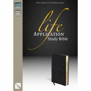 Nasb, Life Application Study Bible, Bonded Leather, Black