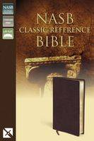 Nasb, Classic Reference Bible, Bonded Leather, Burgundy, Red Letter Edition