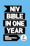 NIV 2011 Text Alpha Bible in One Year HB