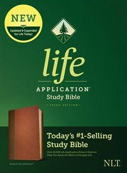 Nlt Life Application Study Bible, Third Edition Brown & Tan Leathersoft
