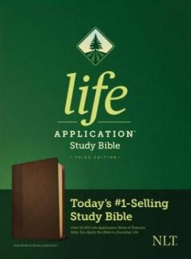 Nlt Life Application Study Bible, Third Edition Dark Brown & Brown Leathersoft