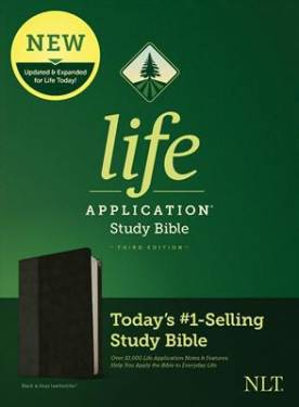 Nlt Life Application Study Bible, Third Edition Black And Onyx Letyhersoft