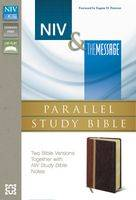 Niv And The Message Parallel Study Bible