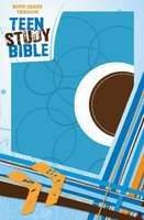 KJV Teen Study Bible Sky Blue