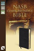 NASB Classic Reference Bible Blk Bnd