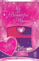 NLT My Beautiful Princess Bible Pink Purple Leatherlike