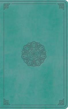Esv Large Print Value Thinline Bible Turquoise Trutone