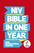 NIV 2011 Text Alpha Bible in One Year PB