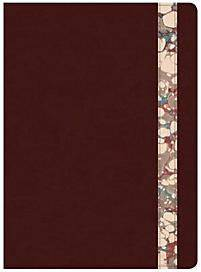 Csb Spurgeon Study Bible, Burgundy/Marble LeathertouchÔ«