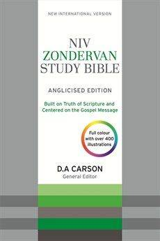 Niv Zondervan Study Bible Softtone (Anglicised)