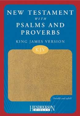 Kjv New Testament With Psalms And Proverbs Tan