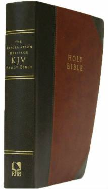 The Reformation Heritage Kjv Study Bible - Leather-Like Two-Tone (Brown/Gray)