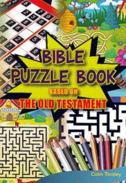 Bible Puzzle Book Based On The